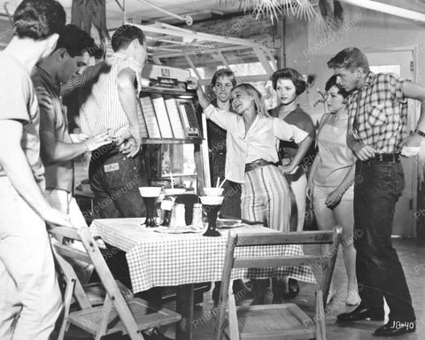 AMI Jukebox Party Vintage 8x10 Reprint Of Old Photo