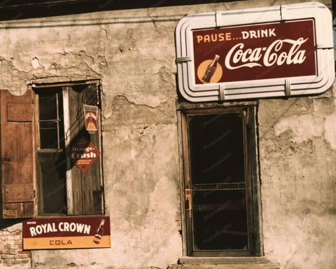 Cafe | Soda Signs | Coca Cola | Crush | 8x10 Reprint Of Old Photo