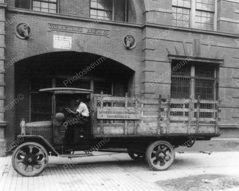 Chr. Heurich Brewing Co Truck 8x10 Reprint Of Old Photo