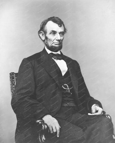 Abraham Lincoln Portrait 1864 Vintage 8x10 Reprint Of Old Photo