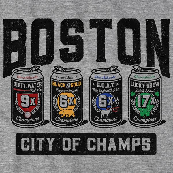 Boston 4-Pack Champions T-Shirt - Chowdaheadz