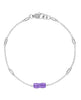 Tacori Amethyst Bracelet SB22501 (Choose free two-day shipping at checkout, Tacori SB22501)