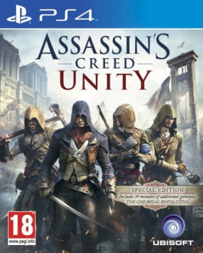 PlayStation 4 Assassin's Creed Unity