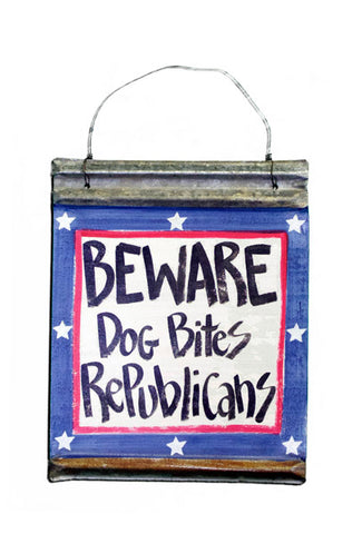Beware!  Dog bites Republicans