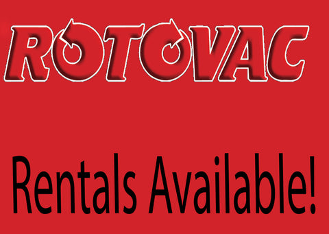 Rotovac DHX Daily Rental