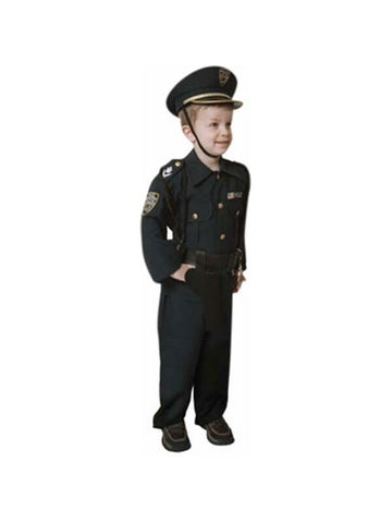 Child's Police Officer Costume-COSTUMEISH