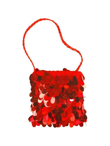 Adult Red Flapper Purse-COSTUMEISH