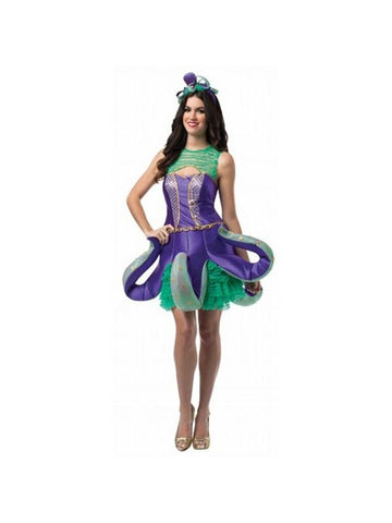 Adult Ornate Octopus Costume Dress-COSTUMEISH