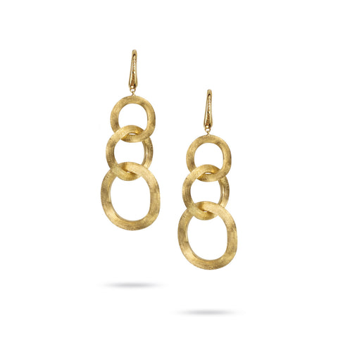 Jaipur Link 18K Yellow Gold Gold French Wire Drop Earrings