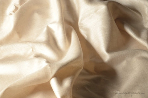 Eri Silk Plain (Natural Fabric Yardage & Bolts, Unbleached)