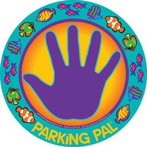 Fish hand print car magnet parking toddler lot safety