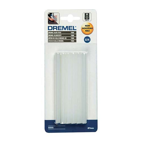 Dremel Multipurpose High Temp Glue Sticks 7mm