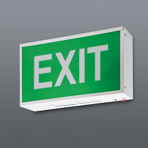 Spazio LED Exit Sign Wall