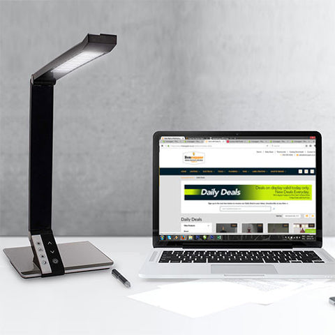 Bright Star Stainless Steel LED Desk Lamp