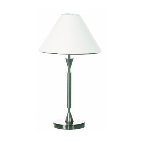 Bright Star Satin Chrome Table Light