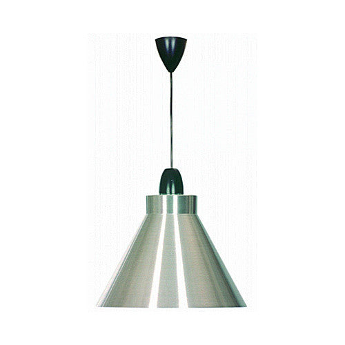 Bright Star Conical Satin Pendant