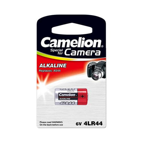 Major Tech 4Lr44 Type 6V Plus Alkaline Camera Battery