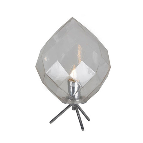 Eurolux Como Table Lamp With Clear Glass
