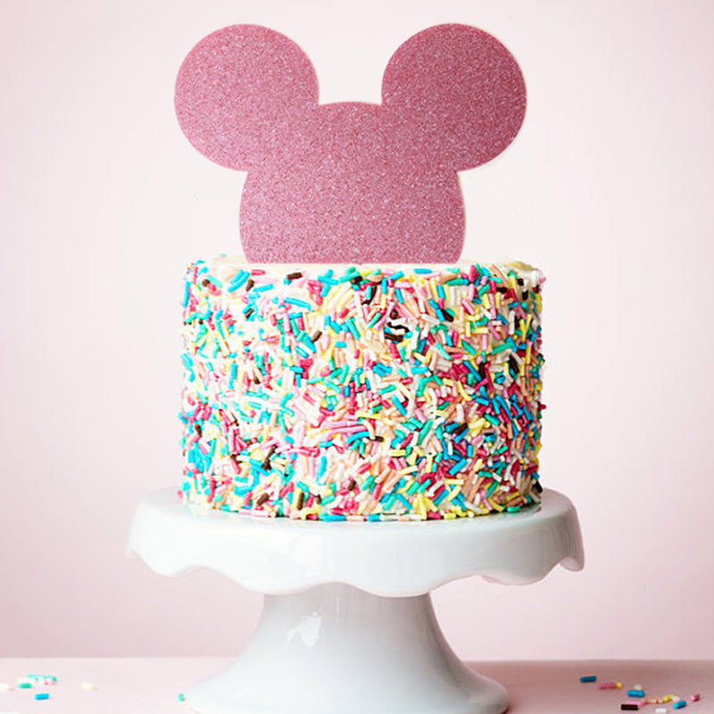 Minnie Mouse Acrylic Cake Topper