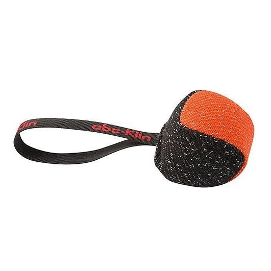 KLIN Puppy Tug / Ball with Handle, padded French Linen