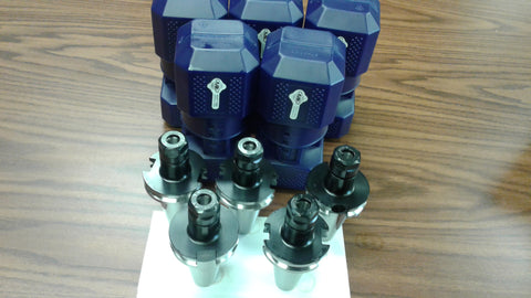 CAT40-ER16 COLLET CHUCK---5 CHUCKS
