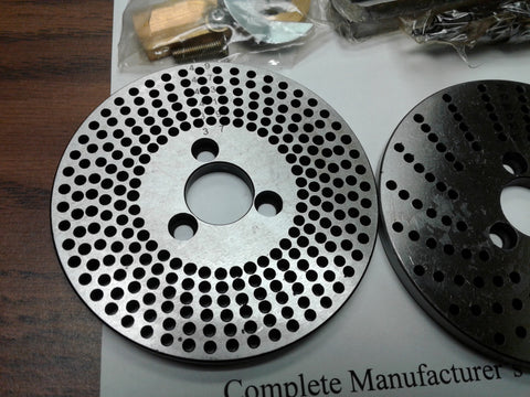 "DP-1 index plates set, dividing plates for 3"",4"",5"", 6"" rotary tables #DP-1-new"