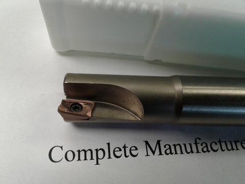 "3/4"" 90 degree indexable end mill 3/4""x3/4""x6"" Sandvik R390-11T308 #506-SDVK-034"