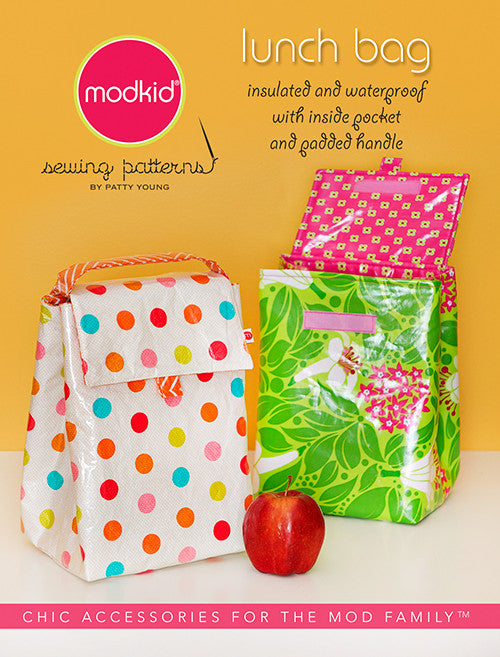 Lunch Bag Sewing Pattern by Mod Kid Patterns