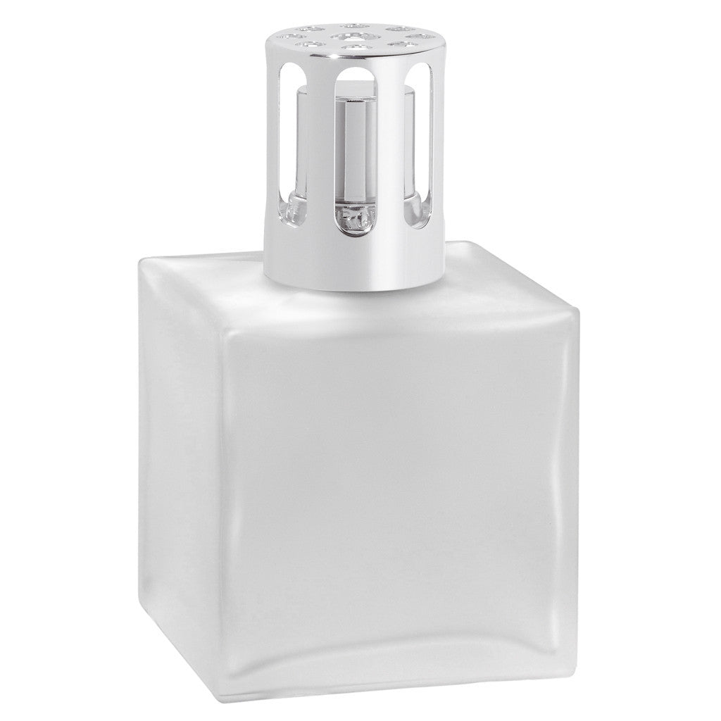 Cube Glass Lampe Berger Lamp - Frosted