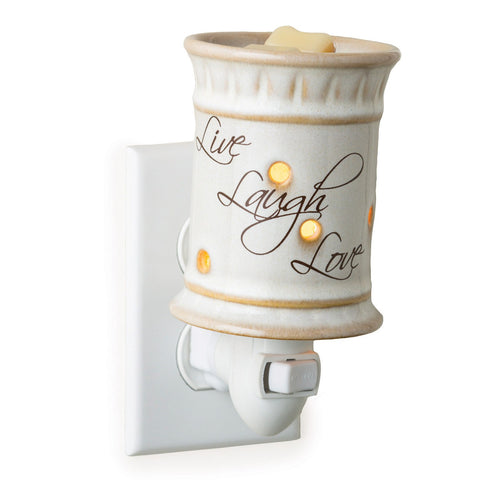 Candle Warmers Live, Laugh, Love Plug-In Fragrance Warmer