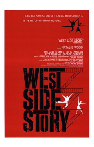 West Side Story Movie Poster Print