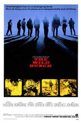 The Wild Bunch Movie Poster Print
