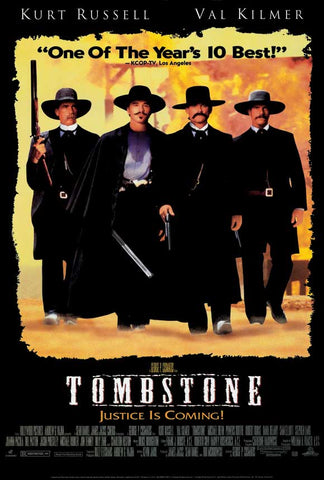 Tombstone 27 x 40 Movie Poster - Style B