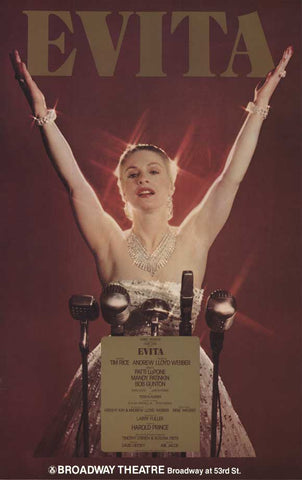 Evita (Broadway) 27 x 40 Poster - Style A
