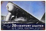 Vintage New York Central System Sign