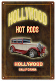 Holly Wood Hot Rod Sign Garage Art 12x18 sign