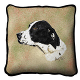 German Shorthaired Pointer 2 Pillow