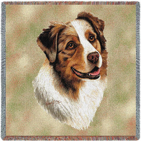 Australian Shepherd Small Blanket