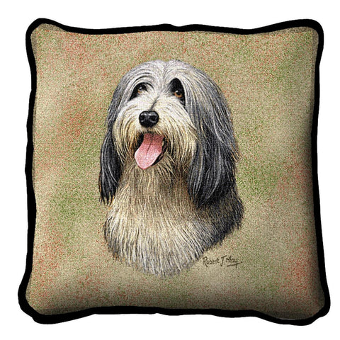 Bearded Collie Pillow