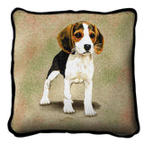 Beagle Puppy Pillow Cover
