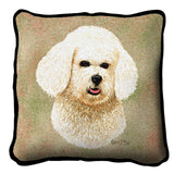 Bichon Frise Pillow Cover