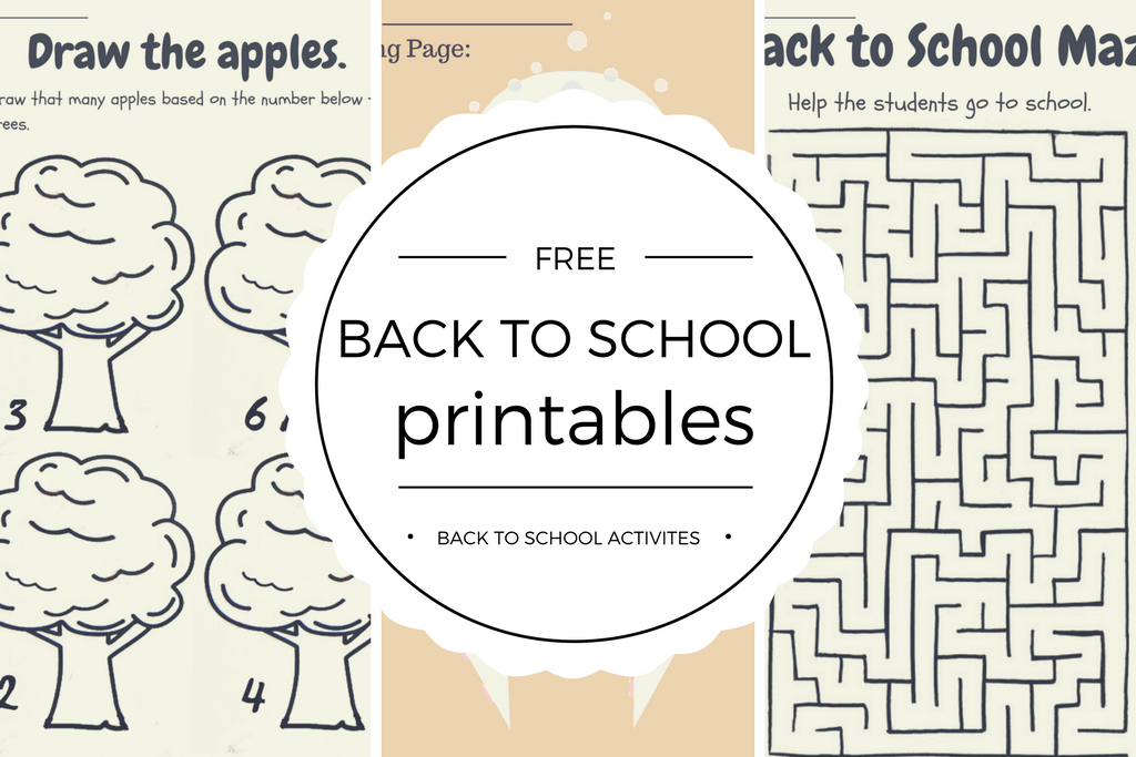 Free Back To School Printables - Quan Jewelry