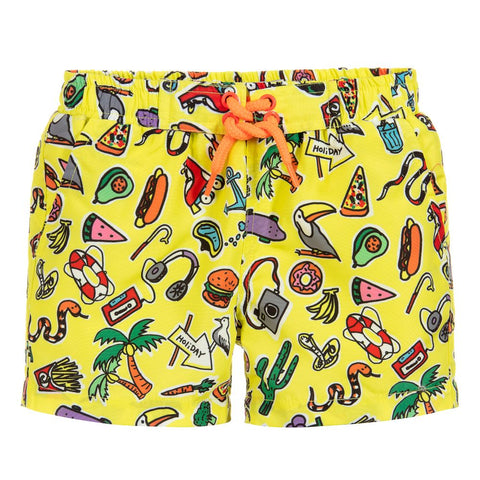 Stella McCartney Toys and Food Swim Trunks