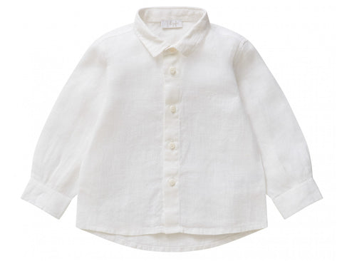 Il Gufo CL116 Long Sleeve Linen Shirt