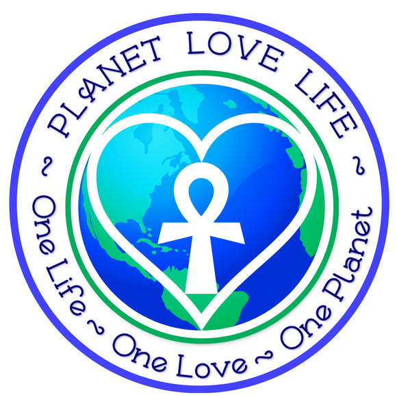 Earth Sticker - Planet Love Life - Recycled Ocean Plastic Bracelet