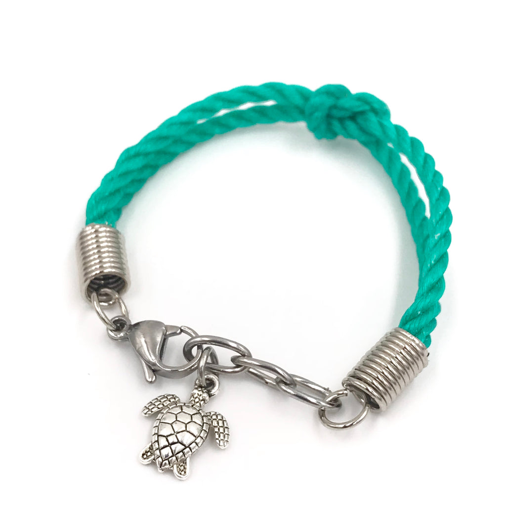 Turtle Hatchling Bracelet (Small Size) - Planet Love Life - Recycled Ocean Plastic Bracelet