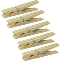 Ten Clothes Pins - Wood