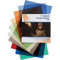 Rosco Cinegel Sampler Gel Kit - 12x12""