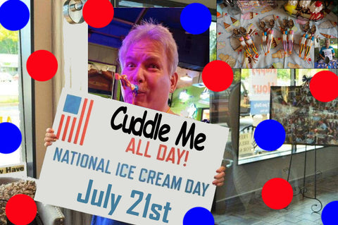 National Ice Cream Day is July 21st. When is National Cuddle Me Day? Couples in all Relaionships need a day to Enjoy.