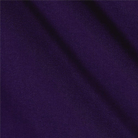 Purple Solid PolyCotton Fabric